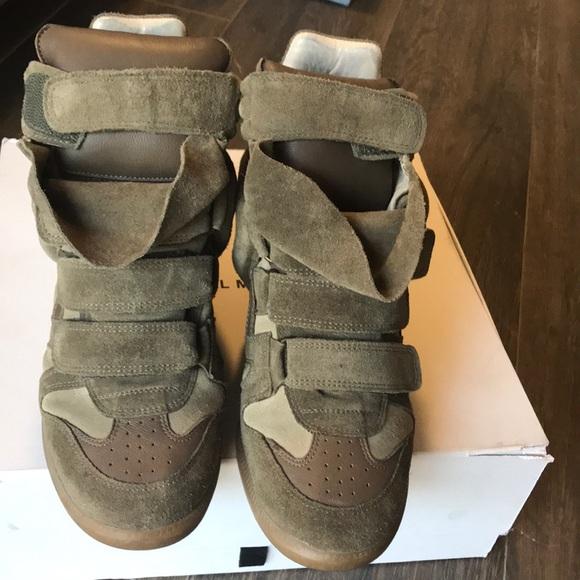 09fa6ac70d2 Isabel Marant Shoes - Isabel Marant Bekett Wedge Sneakers